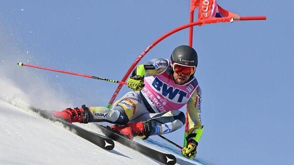 Норвежский горнолыжник Александер Омодт Кильде