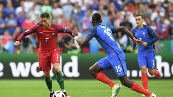Криштиану Роналду в финале Евро-2016
