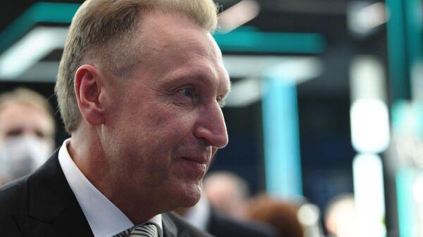 Председатель ВЭБ.РФ Игорь Шувалов на Петербургском международном экономическом форуме - 2021