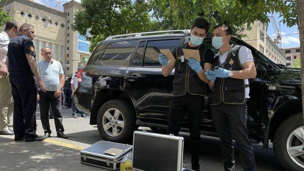 Сотрудники правоохранительных органов Армении