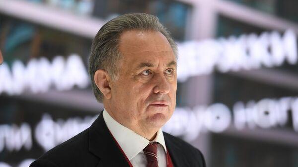 Генеральный директор АО ДОМ.РФ Виталий Мутко на Петербургском международном экономическом форуме - 2021