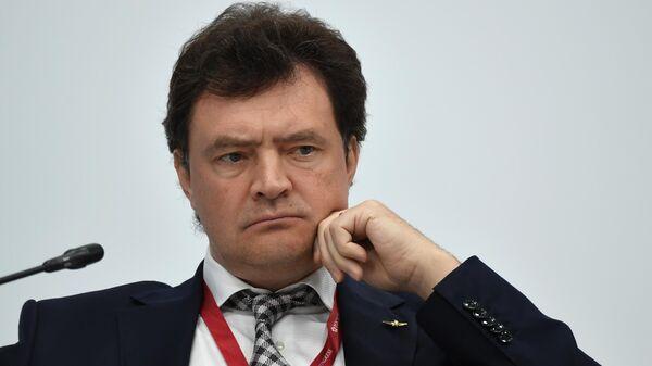 Генеральный директор ПАО Аэрофлот Михаил Полубояринов на пленарной сессии Транспортный каркас экономики на ПМЭФ-2021