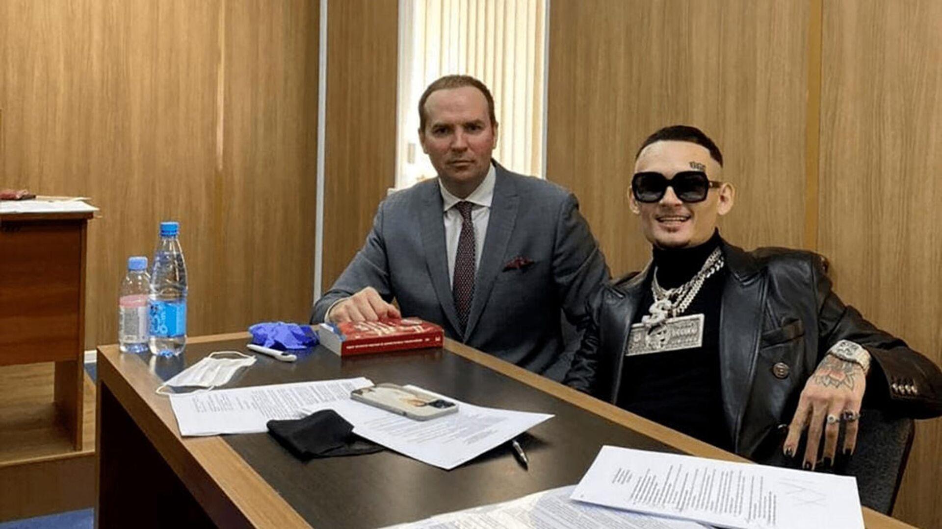 Моргенштерн в суде - РИА Новости, 1920, 03.06.2021