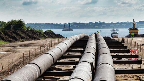 Подготовка к строительству газопровода Baltic Pipe