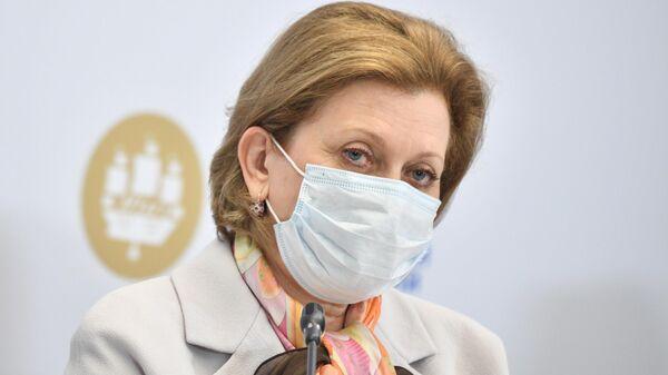 Главный государственный санитарный врач РФ Анна Попова на Петербургском международном экономическом форуме - 2021