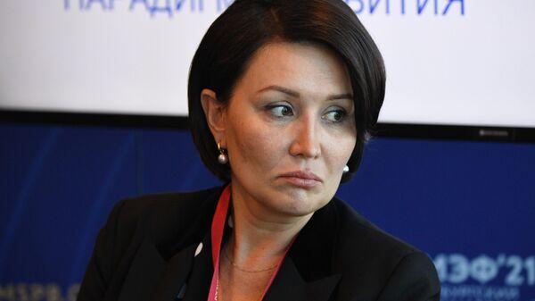 Генеральный директор Агентства стратегических инициати Светлана Чупшева на Петербургском международном экономическом форуме - 2021
