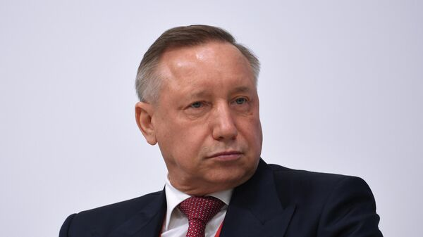 Губернатор Санкт-Петербурга Александр Беглов на ПМЭФ