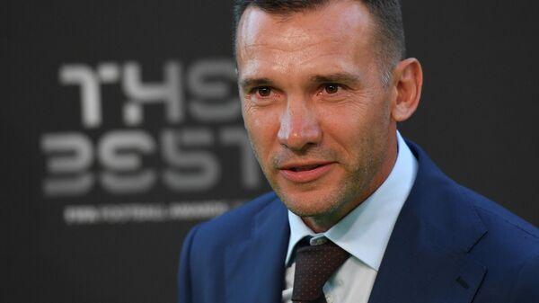 Главный тренер сборной Украины Андрей Шевченко