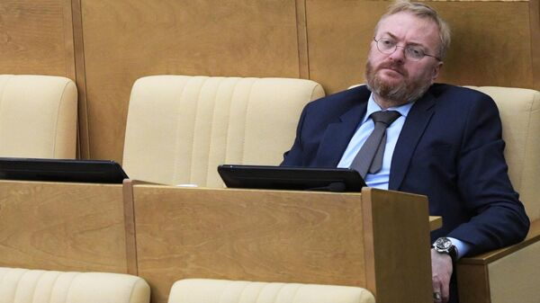 Член комитета по развитию гражданского общества, вопросам общественных и религиозных объединений Государственной Думы РФ Виталий Милонов