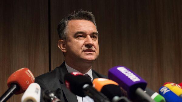 Председатель Общественного комитета в защиту генерала Ратко Младича Сербии и Республики Сербской Дарко Младич