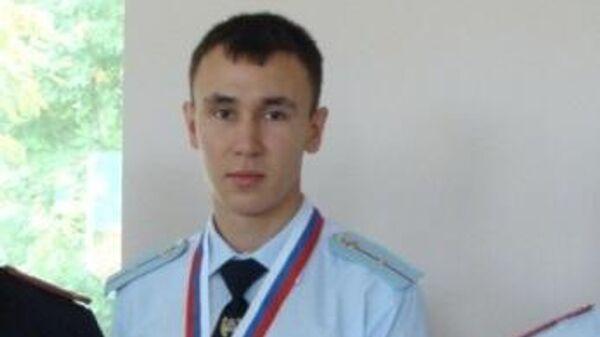 Радик Бадретдинов во время учебы