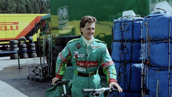 Михаэль Шумахер на Гран-при Бельгии 1991 года