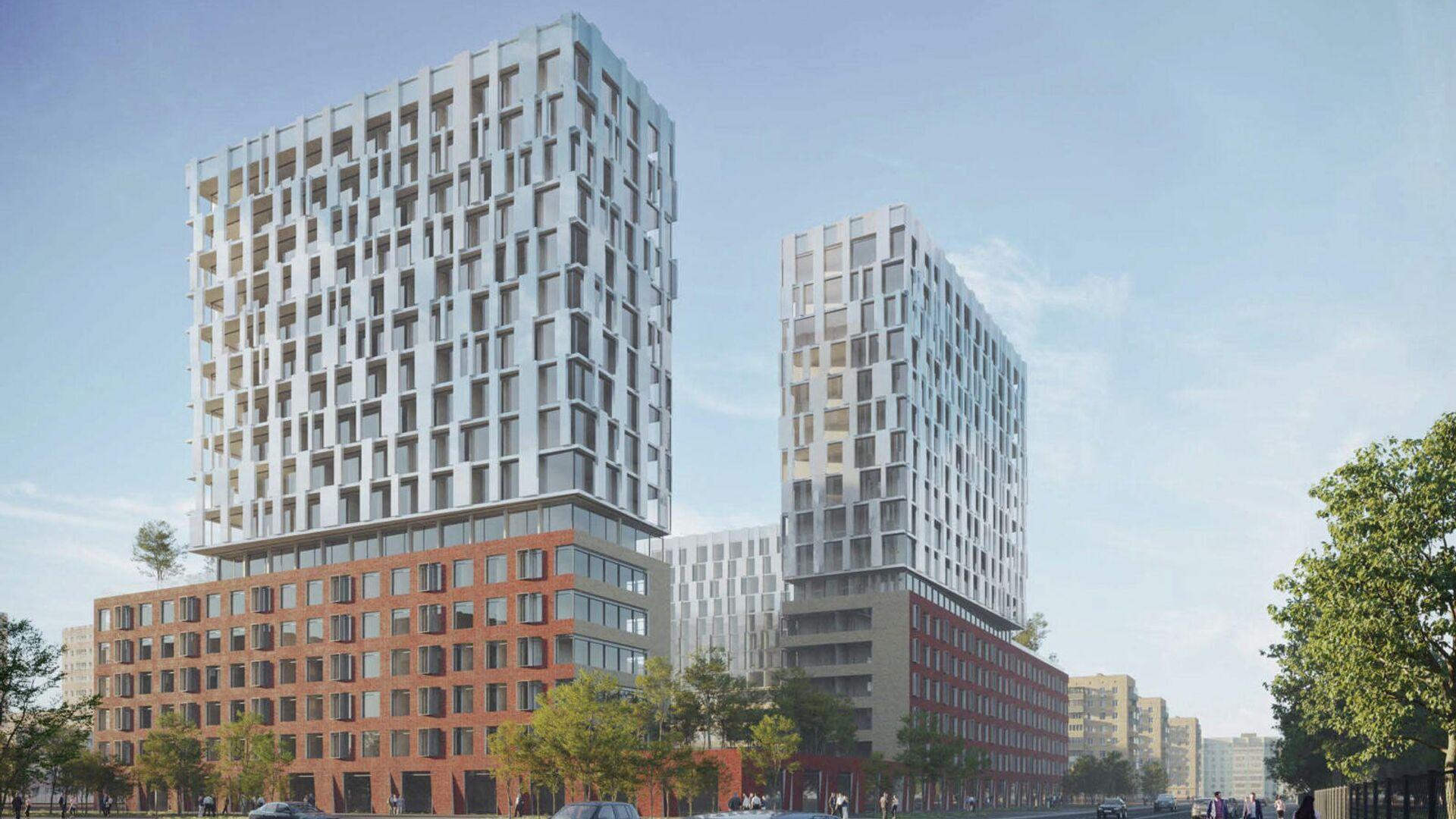 Проект Гинзбург и архитекторы + ODA + External Referens для программы реновации в Москве - РИА Новости, 1920, 09.06.2021
