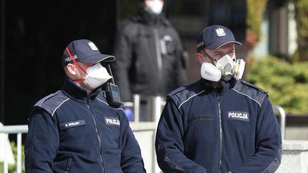 Польская полиция в Варшаве
