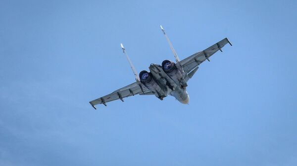 Взять на сушку. Над Балтикой впервые сошлись Су-30 и F-35