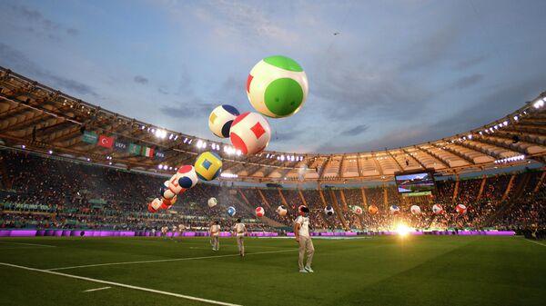 Церемония открытия ЕВРО-2020