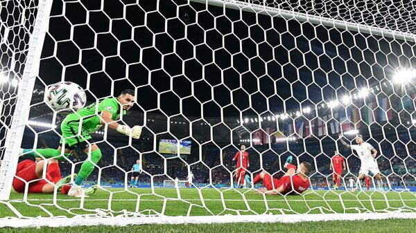 Первый забитый мяч ЕВРО-2020