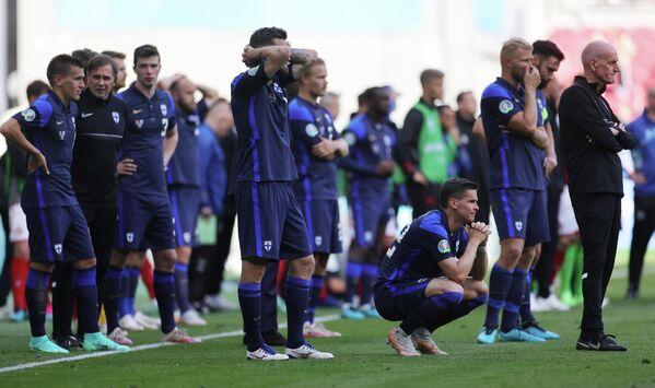 Футболисты сборной Финляндии