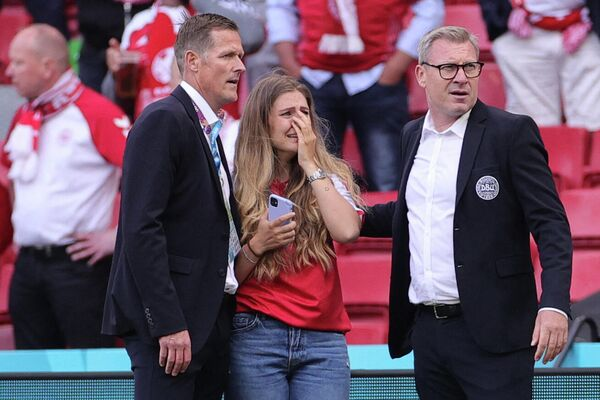 Супруга полузащитника сборной Дании Кристиана Эриксена Сабрина Квист