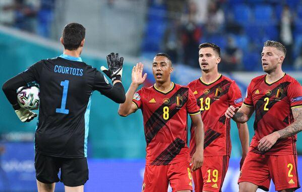 Футболисты сборной Бельгии
