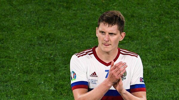 Игрок сборной России Игорь Дивеев