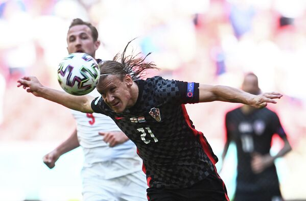 Защитник сборной Хорватии Домагой Вида