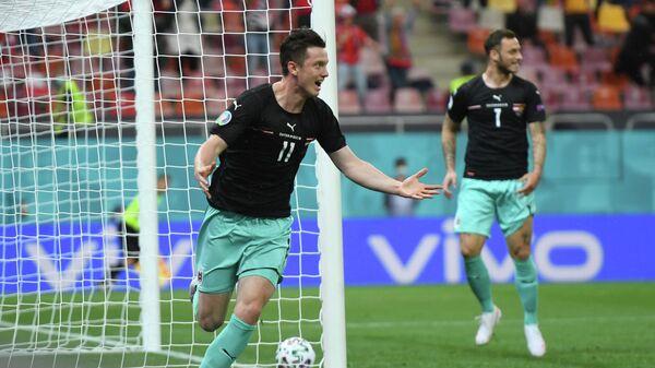 Нападающий сборной Австрии Михаэль Грегорич