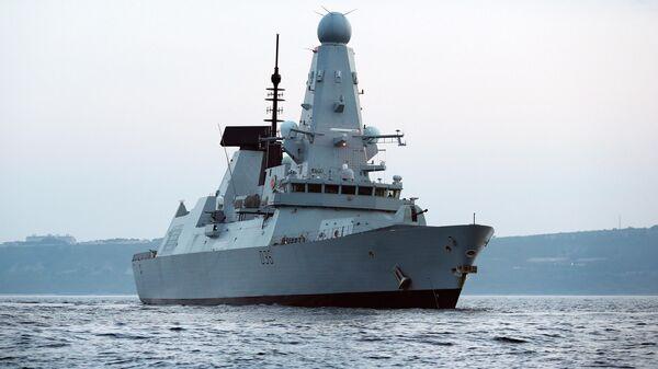 Эсминец Дефендер ВМС Великобритании