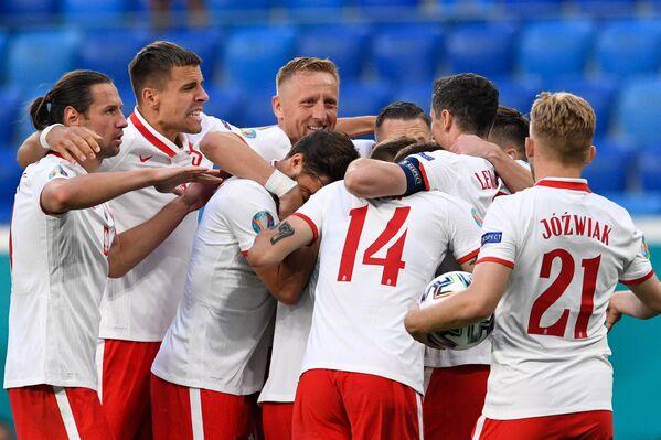 Футболисты сборной Польши
