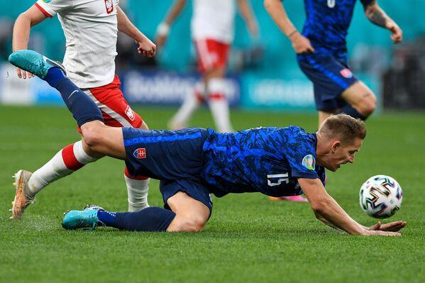 Защитник сборной Словакии Томаш Губочан