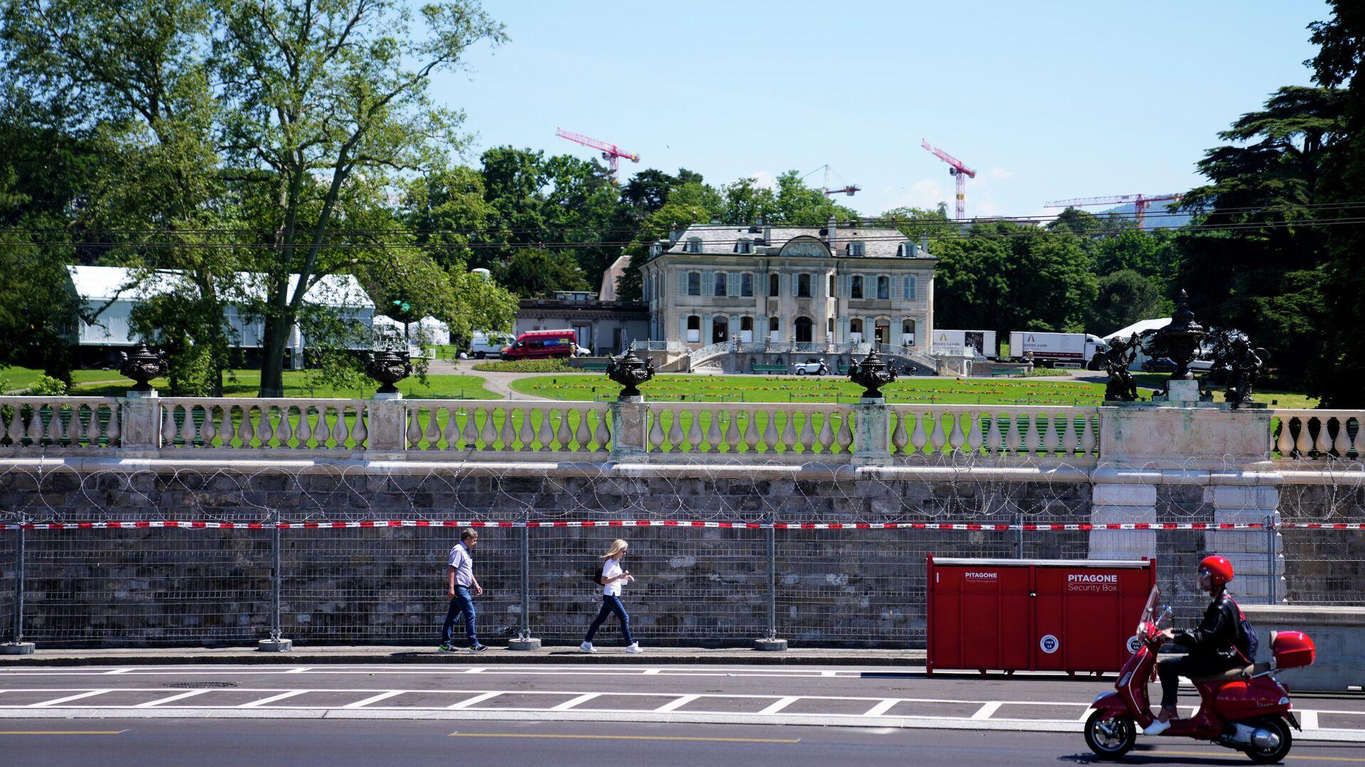 Вилла La Grange в Женеве, где состоится встреча президента России Владимира Путина и президента США Джо Байдена - РИА Новости, 1920, 15.06.2021