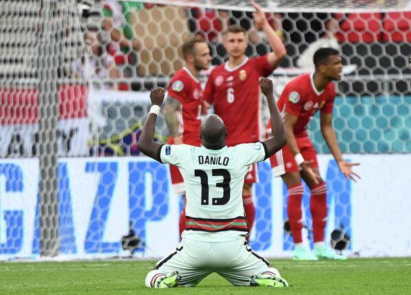 Полузащитник сборной Португалии Данилу