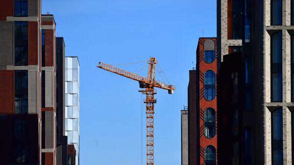 Строительство новых домов в Москве