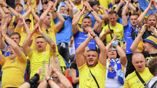 Болельщики сборной Украины по футболу