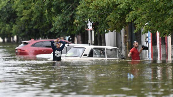 Последствия подтопления в Керчи из-за ливней