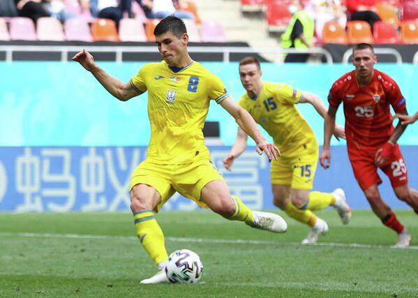 Полузащитник сборной Украины Руслан Малиновский