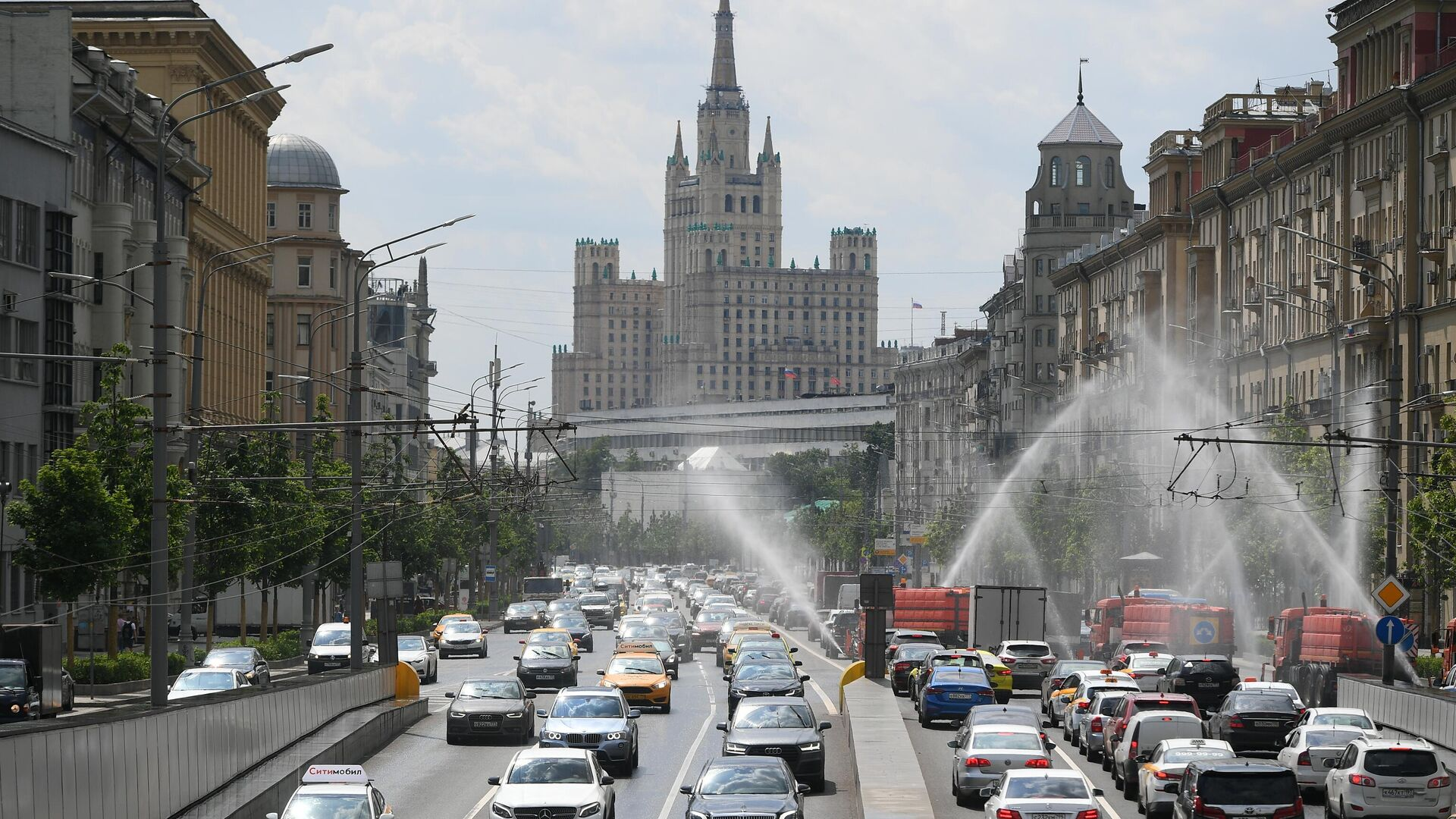 Аэрация воздуха в Москве - РИА Новости, 1920, 29.06.2021