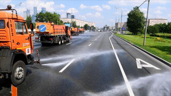 Аэрация дорог в Москве