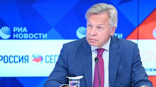 """Пушков дал совет Дуде после его заявления о """"Северном потоке — 2"""""""