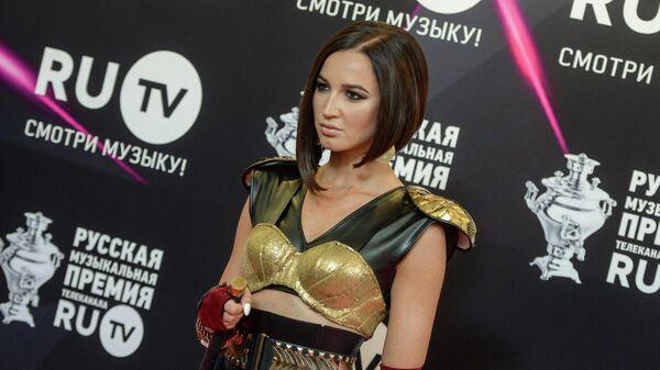 Ольга Бузова на церемонии вручения VII русской музыкальной премии телеканала RU.TV
