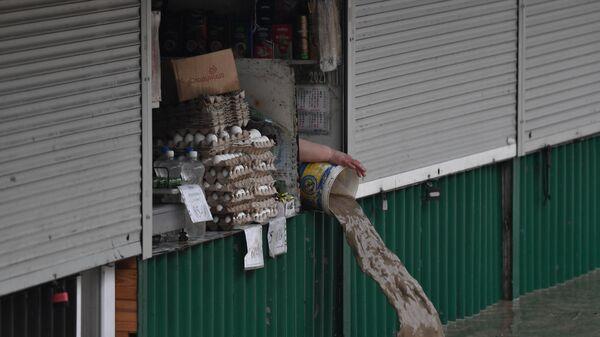 Последствия ливней в Ялте