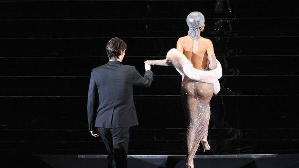 Певица Рианна на церемонии награждения CFDA Fashion Awards