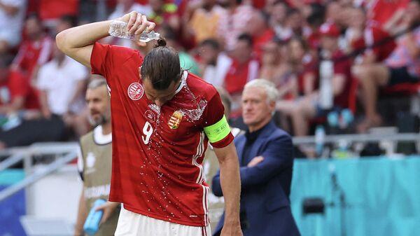 Нападающий сборной Венгрии по футболу Адам Салаи
