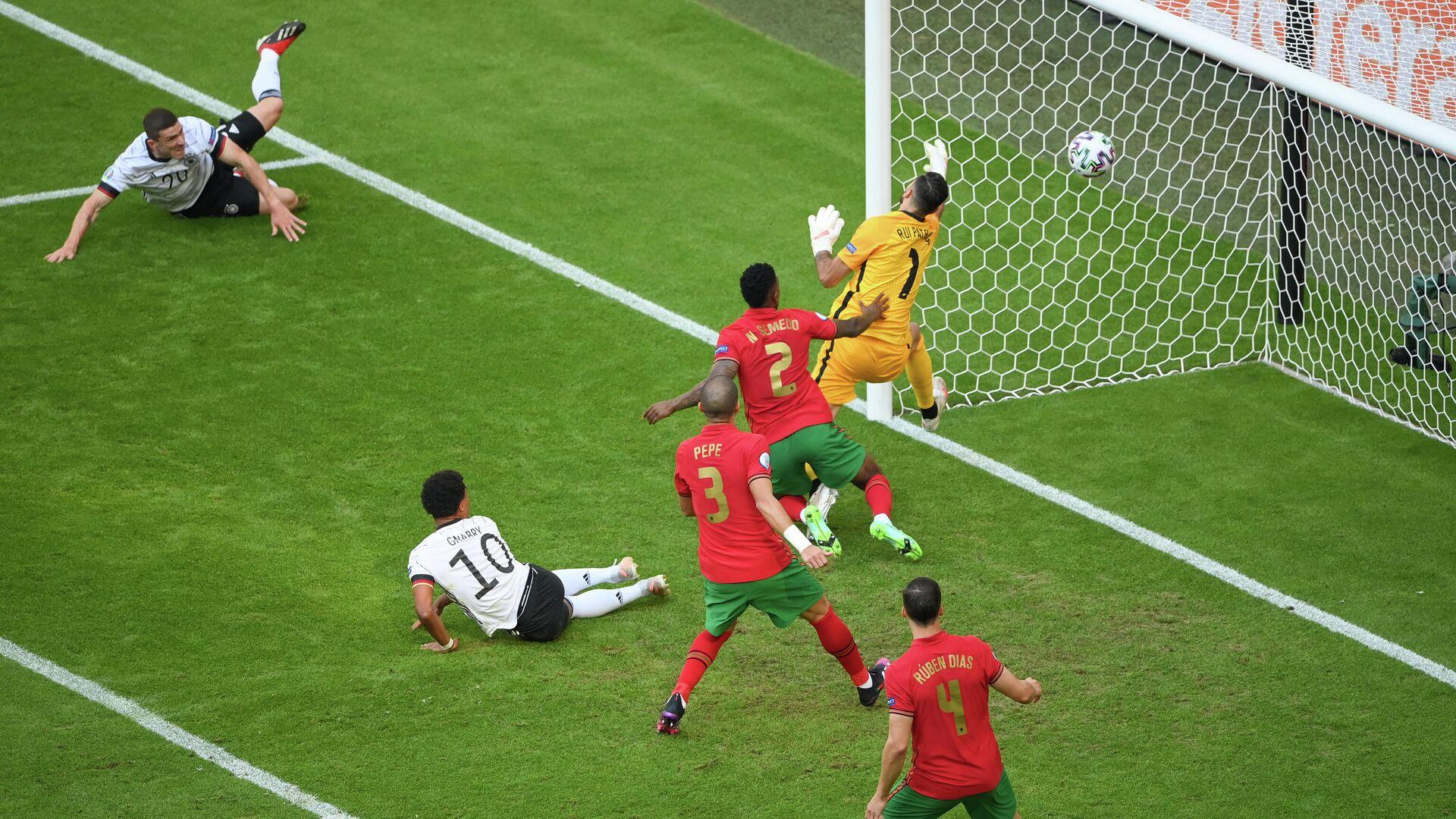 Игровой момент матча Португалия - Германия - РИА Новости, 1920, 19.06.2021