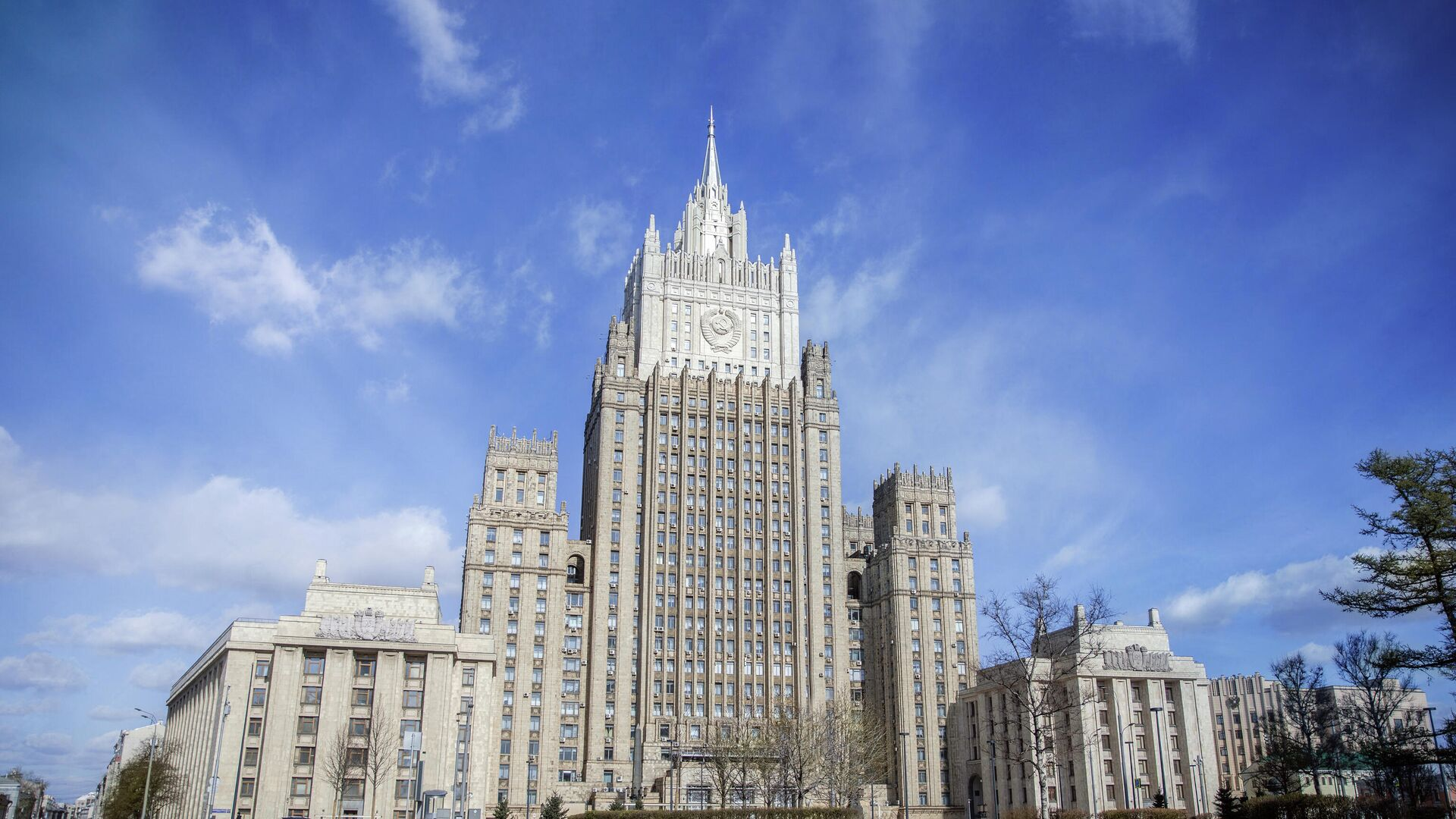 Здание МИД России - РИА Новости, 1920, 30.04.2021