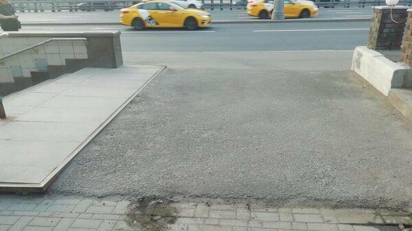 В Марьиной Роще для пешеходов восстановили свободный проход к метро