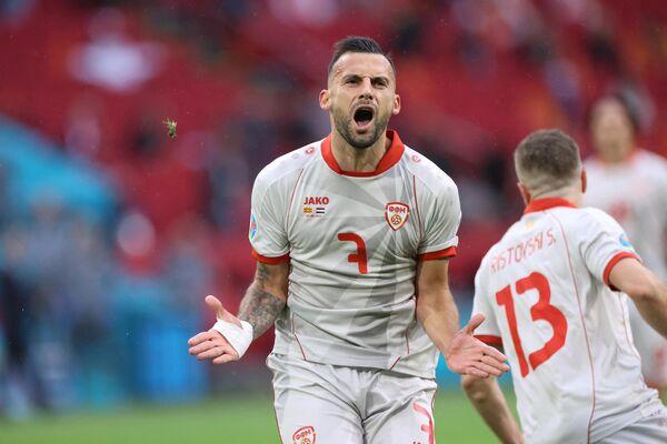 Нападающий сборной Северной Македонии Иван Тричковски
