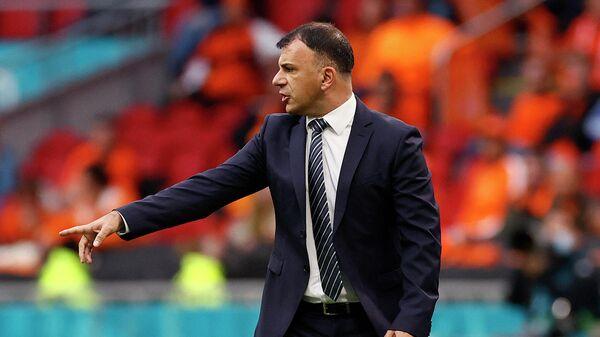 Главный тренер сборной Северной Македонии по футболу Игор Ангеловски