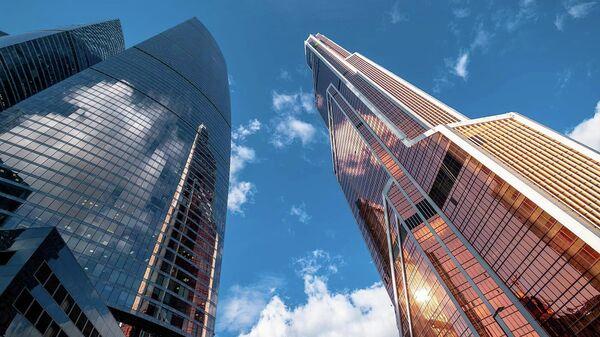 Башня Mercury Tower в Москва-Сити