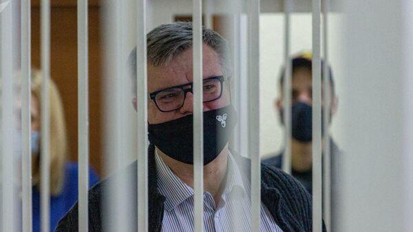 Виктор Бабарико в суде